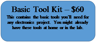 Rectangle: Rounded Corners: Basic Tool Kit – $60
