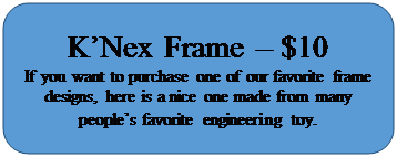 Rectangle: Rounded Corners: K'Nex Frame – $10